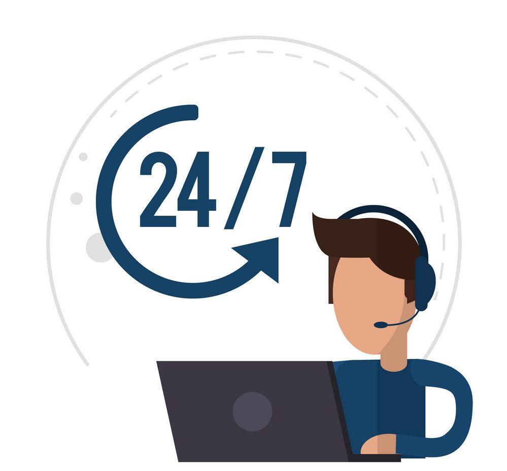 twenty-four seven tech support - Mellow Designs